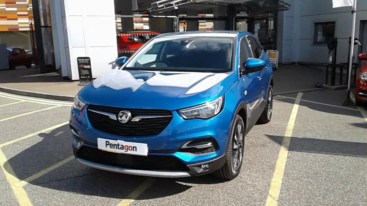 Vauxhall Grandland X 1 2 16V Sport Nav 5dr - Topaz Blue