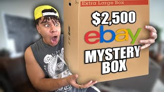 What I Found Inside This $2,500 Ebay MYSTERY BOX Will Shock You..