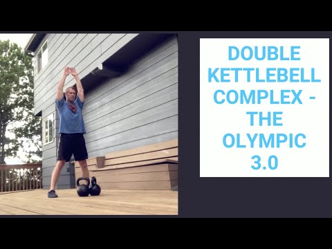 """Double Kettlebell Complex For Fat Loss - """"The Olympic 3.0,"""" Double Kettlebell Complex For Fat"""