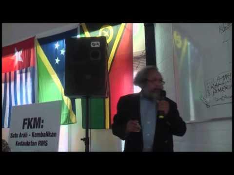 Dr. Jacob Rumbiak Membri Penerangan Kepada RMS di Negri Blanda