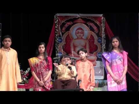 """""""Tu Mane Bhagwan Ek Vardan Api De"""" by Sparsh Shah on Mahavir Jayanti Janm Utsav 2012"""
