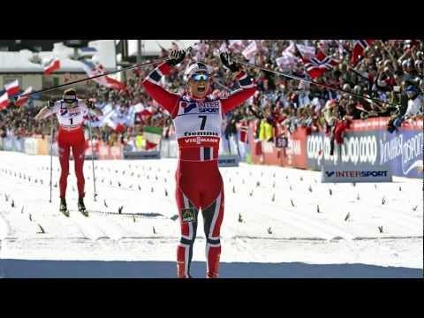 Woman's 30 Km Val di Fiemme 2013  - Marit Bjørgen vs Justyna Kowalczyk