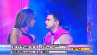Repeat youtube video Shirley Arica y Óscar Gayoso chaparon en