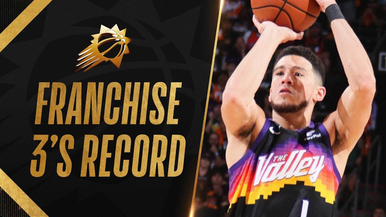 EVERY Suns Playoff FRANCHISE-RECORD 20 3PM in Dominating Game 2 Victory! ☀