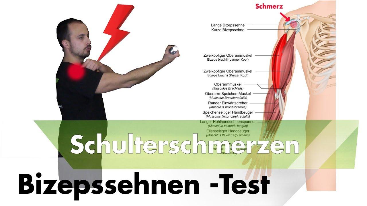Bizepssehne entzündet? | Schulterimpingement testen - YouTube