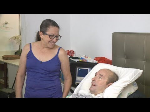 ALS patient discusses fleeing Puerto Rico after Hurricane Maria
