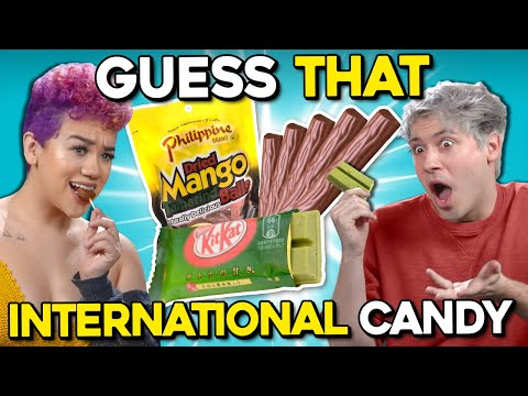 Can YOU Guess Your Country's Candy? | Guess That International Candy