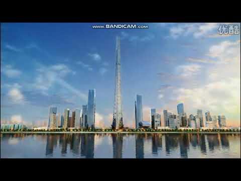 Wuhan Riverfront Erqi Tower Video