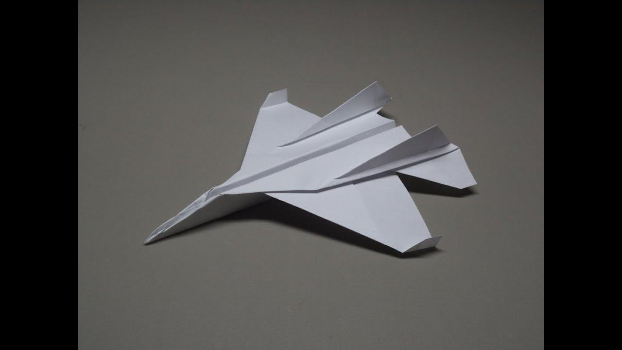 How to make an F15 Eagle Jet Fighter Paper Plane (Tadashi Mori ... | 720x1280