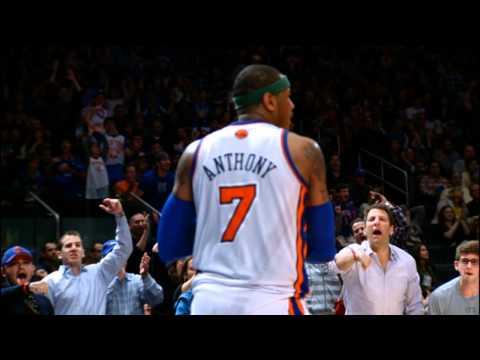 Phantom: Carmelo Lights Up the Bulls for 43 Points