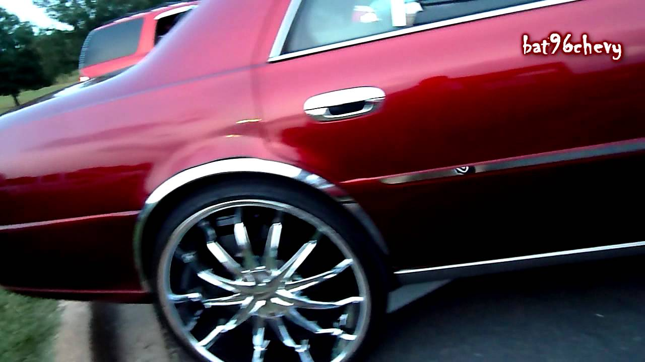Candy Red Cadillac Deville On 26 S Hd Youtube