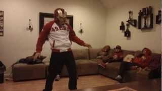 Iron Man Harlem Shake 49ers style