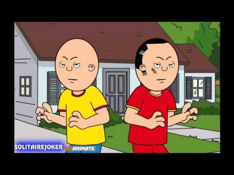 Someone called Caillou wack