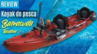 "Vídeo: Kayak de pesca familiar ""Barracuda Tandem"""