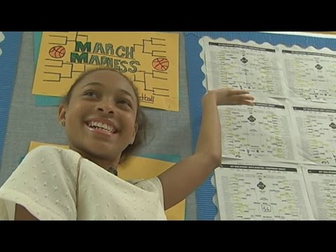 7th Grader Beats All Odds of Correctly Predicting NCAA Final Four
