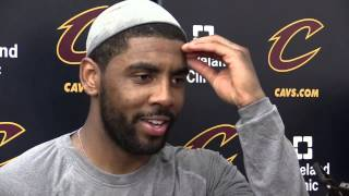 Cleveland Cavaliers Kyrie Irving on the leadership of LeBron James heading into NBA Finals