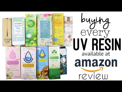 Buying Every UV Resin Brand on Amazon and Honest Review [& not sponsored]