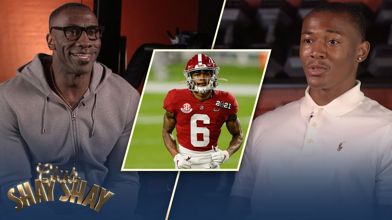 DeVonta Smith on his record-breaking performance in the 2021 National Championship | CLUB SHAY SHAY