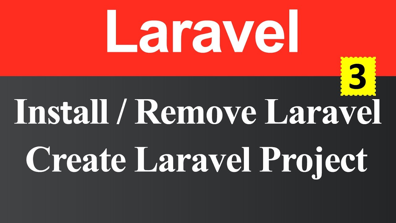 How to Install Laravel and Create Laravel Project