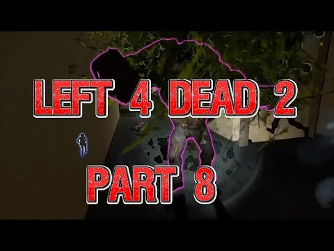 WORST BOOMER BILE EVER: Let's Play Left 4 Dead Part 8