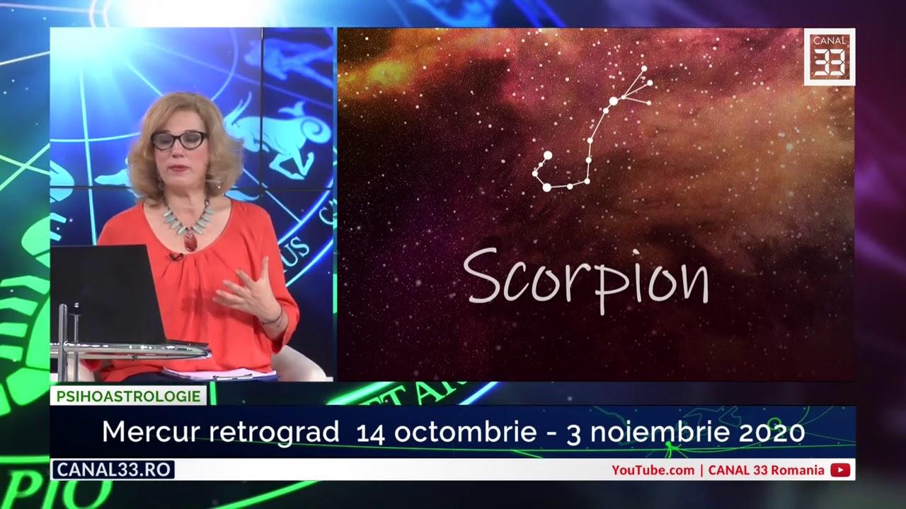Horoscop Mercur retrograd 14 octombrie - 3 noiembrie 2020 - cu Camelia Pătrășcanu