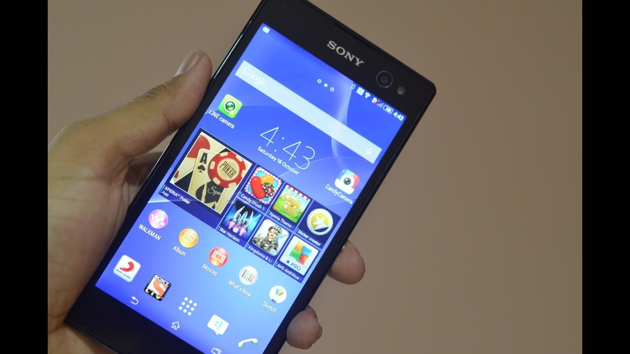 Sony Xperia C3 Password Reset or Recovery