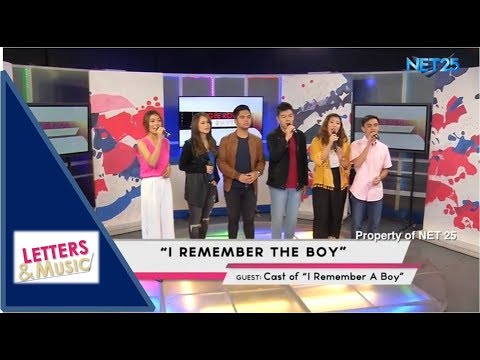 I REMEMBER A BOY CAST - I REMEMBER THE BOY (NET25 LETTERS AND MUSIC)