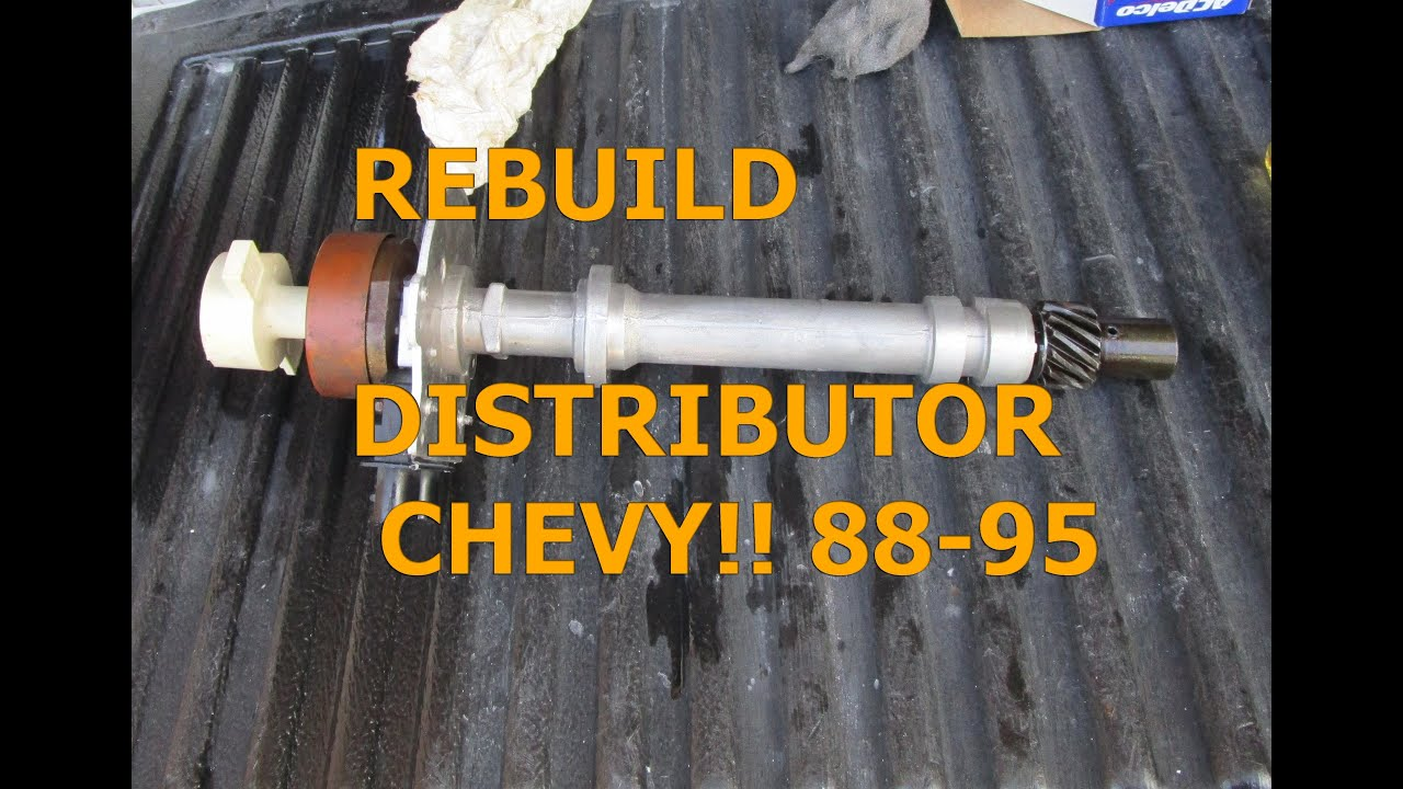 Removing, Rebuilding Installing Distributor 88-95 GMC ...