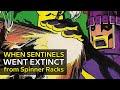 The Sentinels Lowest Point: X-Men Silver Age Comic Book, Cartoon Villain 1980s Bronze Age Marvel 80s