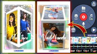 3D WhatsApp Status Video Editing | Kinemaster Status editing | New trending video ||