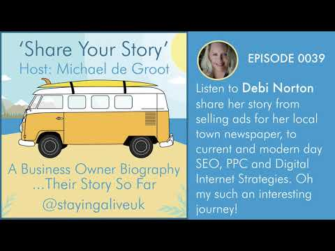 0039: Deborah Norton -  Internet Strategist and Digital Marketing Consultant