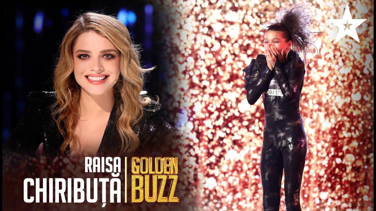 Golden Buzz pentru Raisa Chiribuță! Alexandra Dinu a trimis-o în semifinală