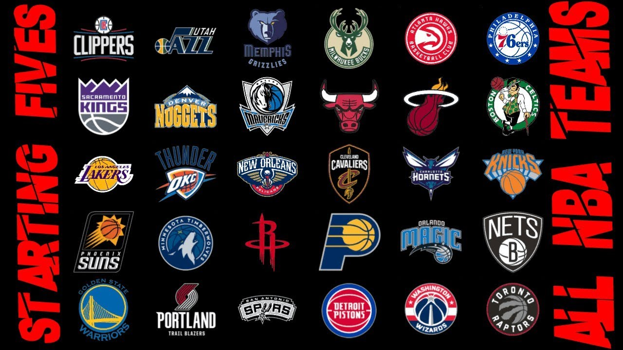 Do You Know The Starters For Every Nba Team In 2018 2019