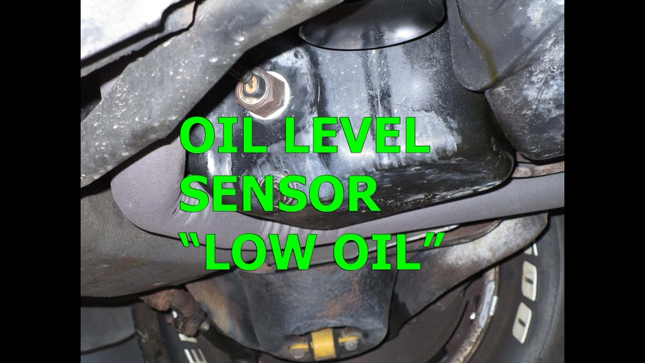 Oil level sensor  Low oil light  Repair/ Replace GM Chevy/Buick 305/350 : low engine oil level warning light - azcodes.com