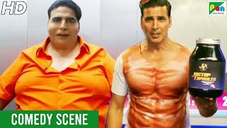 Akshay Kumar Comedy Scene – Fat To Fit | Entertainment | Akshay Kumar, Ritiesh Deshmukh, Tamannaah