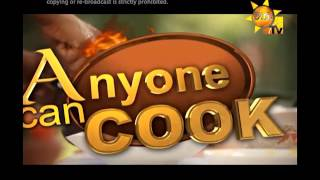 Anyone Can Cook - 18th December 2016