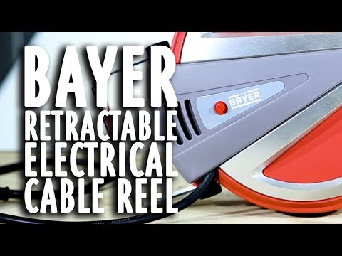 Bayer Retractable Electrical Cable Reel - Test/Review
