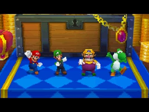 Mario Party DS - All 1-vs-3 Minigames