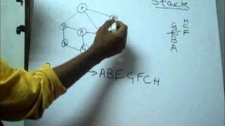 DFS Algorithm And Implementation In Hindi - Jugaadu Engineering-Saadul