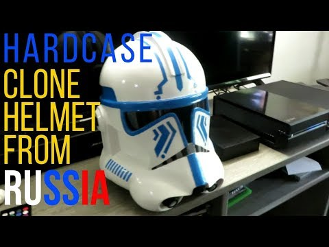 Clone Army Helmet Set Star Wars The Clone Wars Roblox I Bought A Clone Trooper Helmet From Russia Youtube