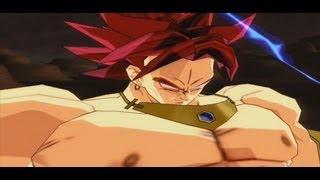 broly legendary super saiyan god vs goku ssj4 dragon ball z budokai tenkaichi 3 hack