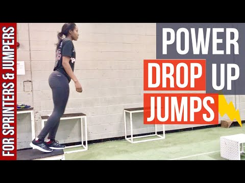 Shock Tactics! Drop Jumps For Improved Speed, Power And Jumping Ability