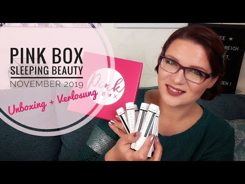 Pink Box Sleeping Beauty | Unboxing + Verlosung November 2019