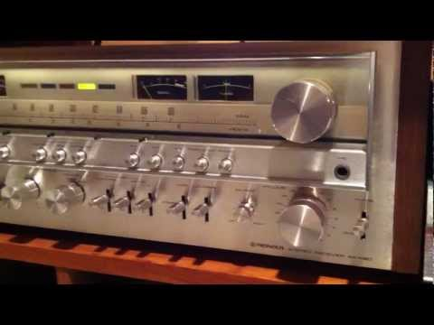 Pioneer SX-1080 Monster Receiver Demo - YouTube