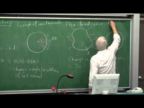 Curvature, turning numbers and winding numbers | Differential Geometry 16 | NJ Wildberger