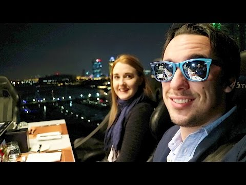 £180 DINNER IN THE SKY, DUBAI