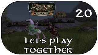 Let's Play Together Der Herr der Ringe Online - Helms Klamm German Part 20 [Deutsch][Lotro][HdrO]