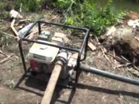 Ca n de riego por pi ones gemini marca sime doovi for Irrigatori nelson