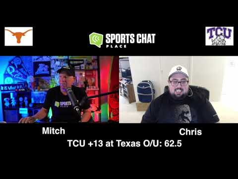 TCU at Texas - College Football Picks & Prediction Week 5 - Saturday 10/3/20 | Sports Chat Place