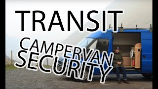 Ford Transit Van and Campervan Security Locks & Ideas